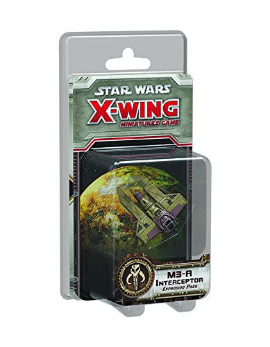 Star Wars X-Wing Miniatures Game: M3-A Intercepter Expansion Pack