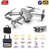 Mini Drone LANSENXI 2020 E68 Camera Angular 4K 1080P Wide Drone Wifi