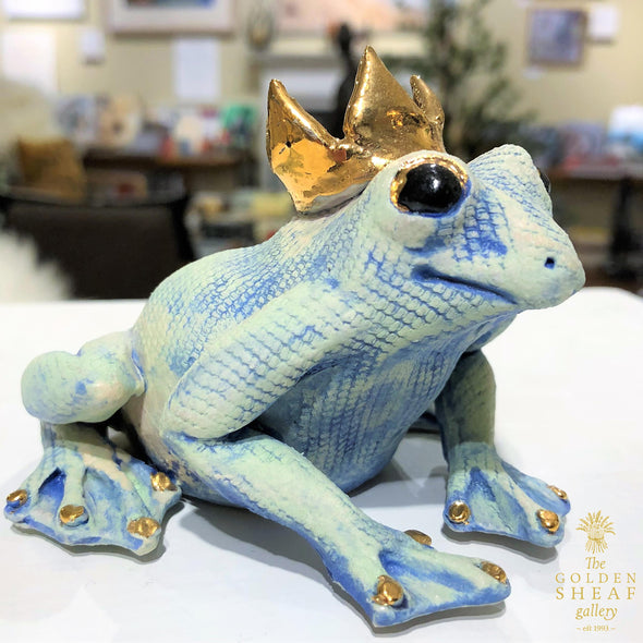 Frog And Crown by Gin Durham