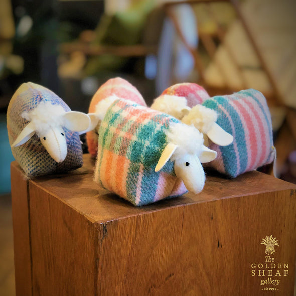 Lavender Sheep by Valmai Davies