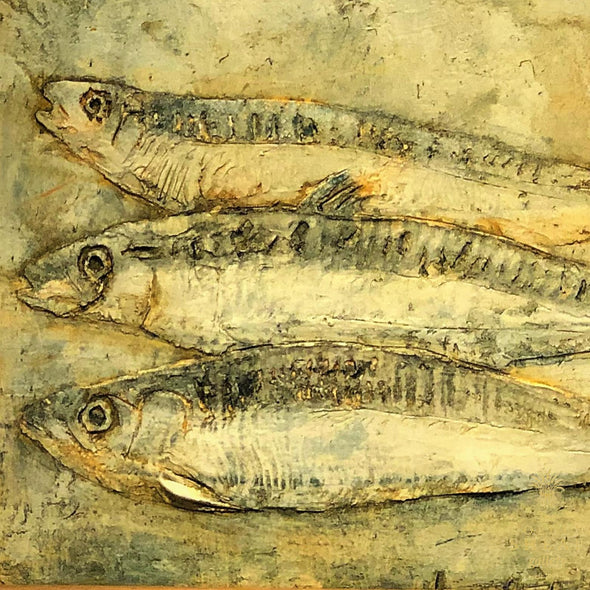 Three Mackerels By Neil Stokes