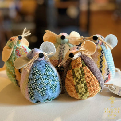 Lavender Mice by Valmai Davies