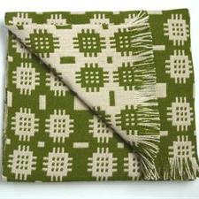 Solva Woollen Mill Rug in Green