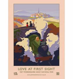 'Love At First Sight' Print- Pembrokeshire Coast