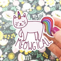 Meowgical Stickers
