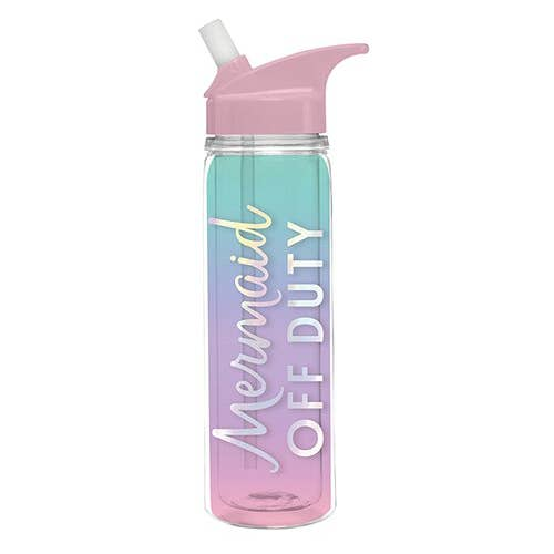 Mermaid Off Duty water bottle - Slant Collections