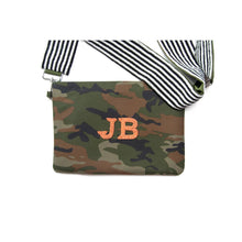 Load image into Gallery viewer, Personalized Camo White Multi Beaded Crossbody (Four Week Delivery)