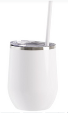 Load image into Gallery viewer, 12 ounce stainless steel tumbler