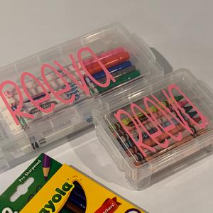 Personalized Crayon (and/or) Marker Box