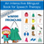 Editable Winter Pronouns Booklet | Bilingual