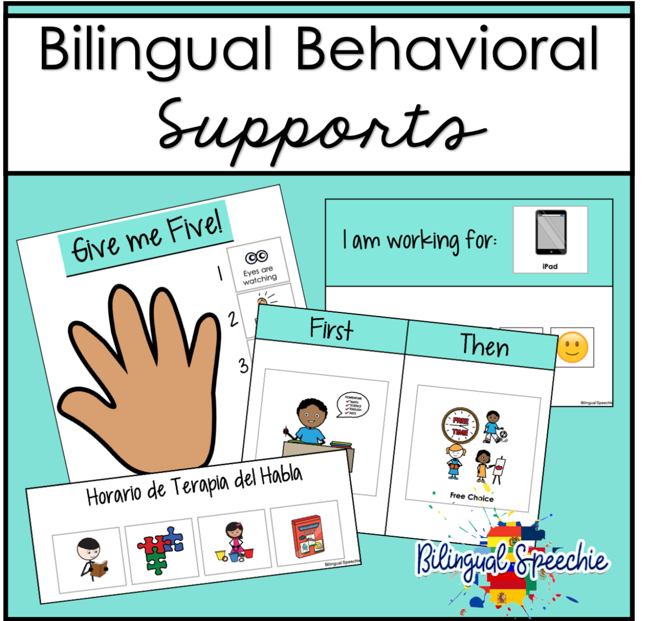 Bilingual Behavioral Supports | Editable