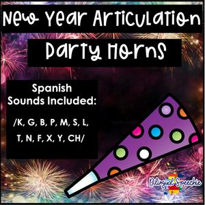 2021 New Year Articulation Party Horns | SPANISH