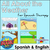 BOOM Cards | All About the Weather | for Speech Therapy in English & Spanish