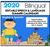 EDITABLE 2020 Bilingual Speech & Language Calendars | for distance learning