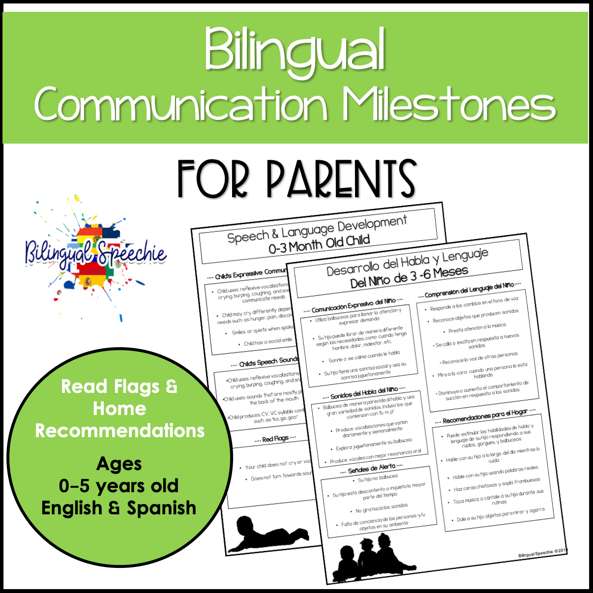 Communication Milestones Ages 0-5 years- BILINGUAL