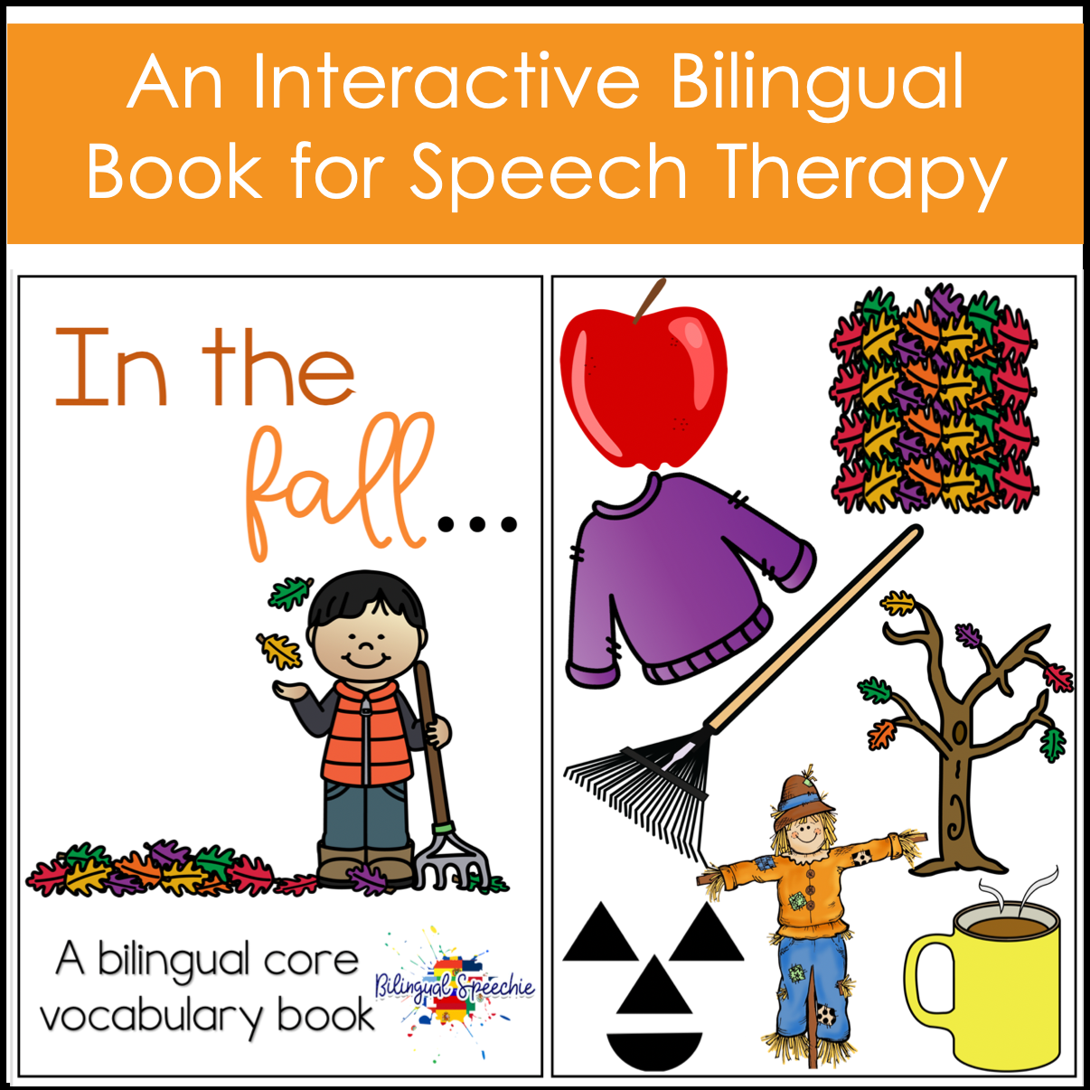 Fall Bilingual Core Vocabulary Book