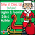 Dress Up Santa Claus | Bilingual 2-in-1 Interactive Book