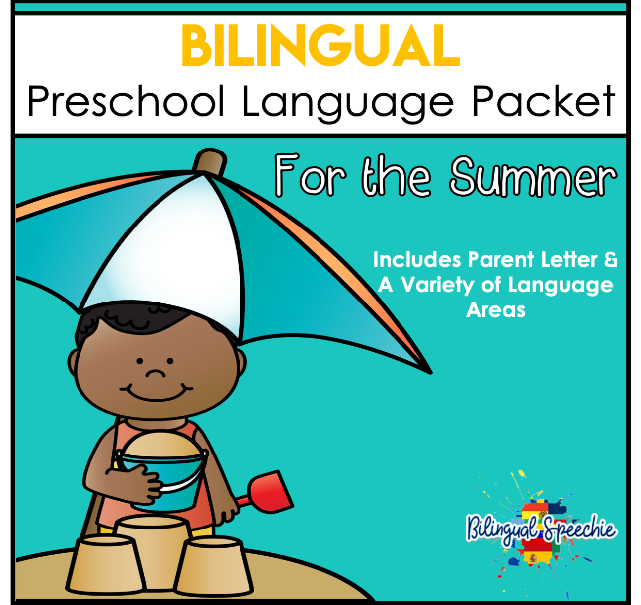 Bilingual Preschool Summer Language Packet