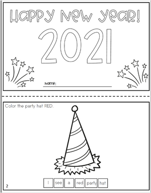 New Year 2021 Bilingual Booklet | Increasing Mean Length of Utterance