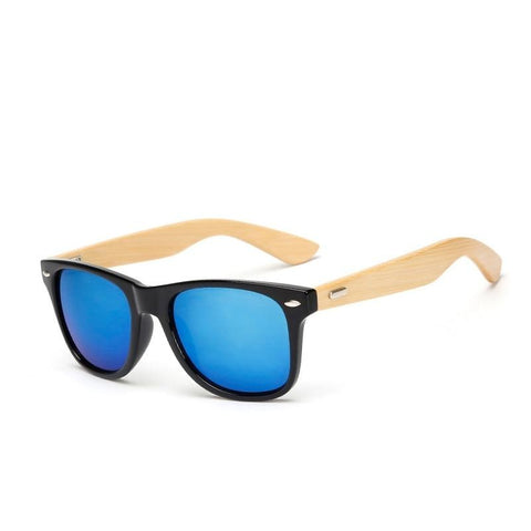 JASPEER Bamboo Mens Wooden Sunglasses