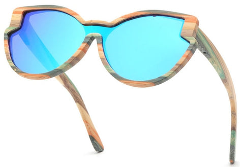 SKYDOVE Luxury Wooden Sunglasses