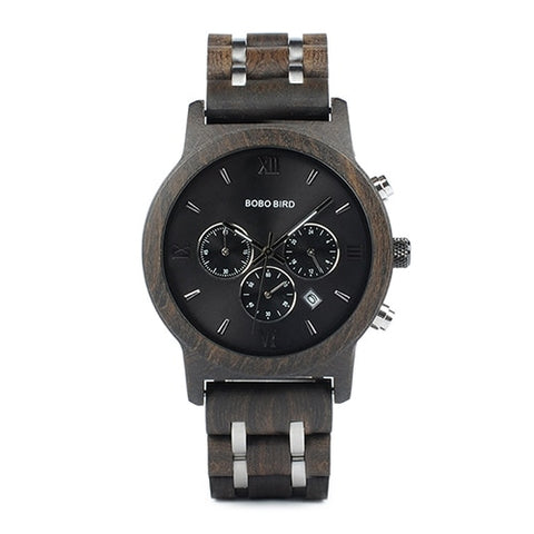 BOBO BIRD P19 Wooden Mens Quartz Watch