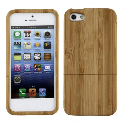 Bamboo Hard Phone Case for iPhone