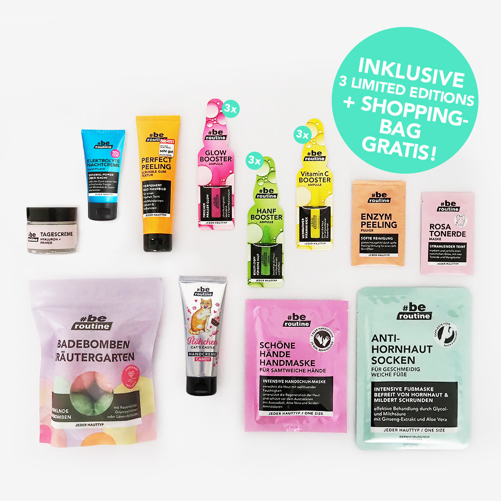 "Beauty Booster Paket ""All over the body"""
