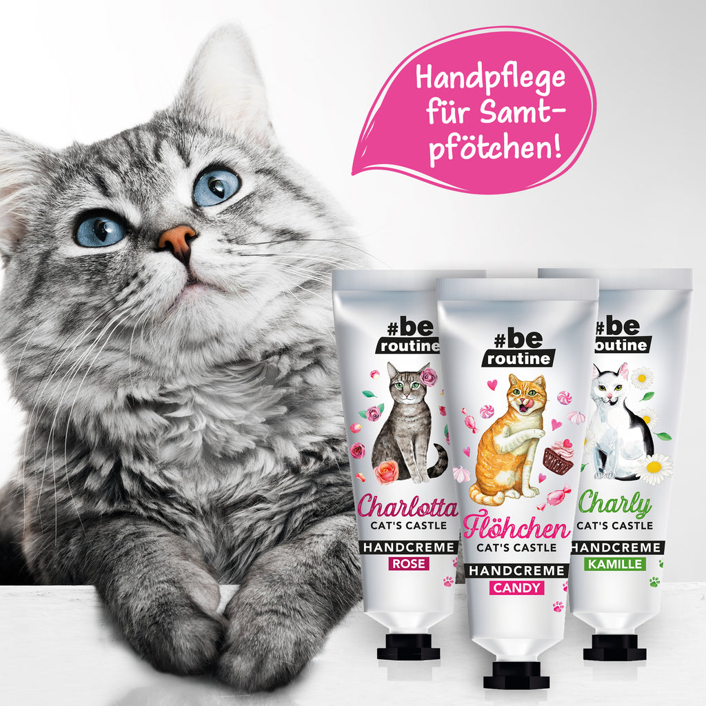 Handcreme Cat's Castle Charly Kamille