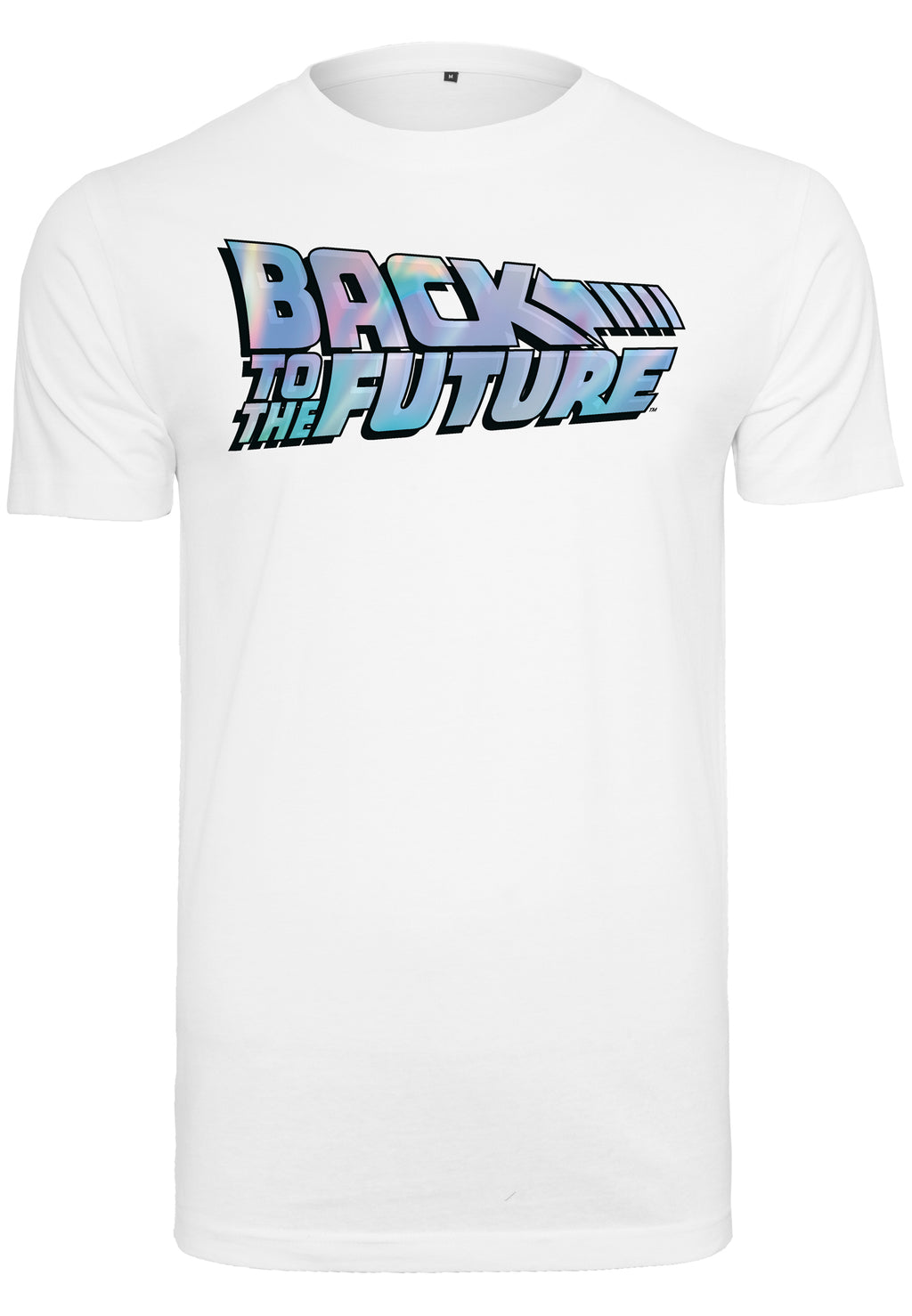 Back To The Future Shiny Logo Tee