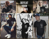 Onelife Apparel Defeat Your Fears Black T-Shirt Unisex