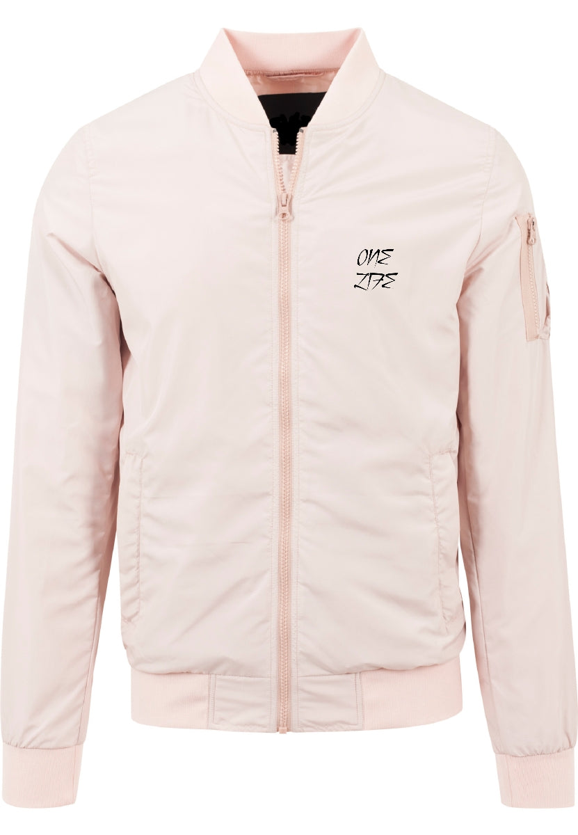 Onelife Apparel One Life Logo Light Bomber Jacket | 2 Colours