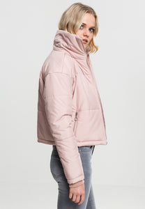 Onelife Apparel Ladies Oversized High Neck Jacket Rosé