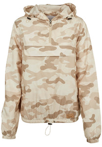 Onelife Apparel Ladies Camo Pull Over Jacket | 3 Colours