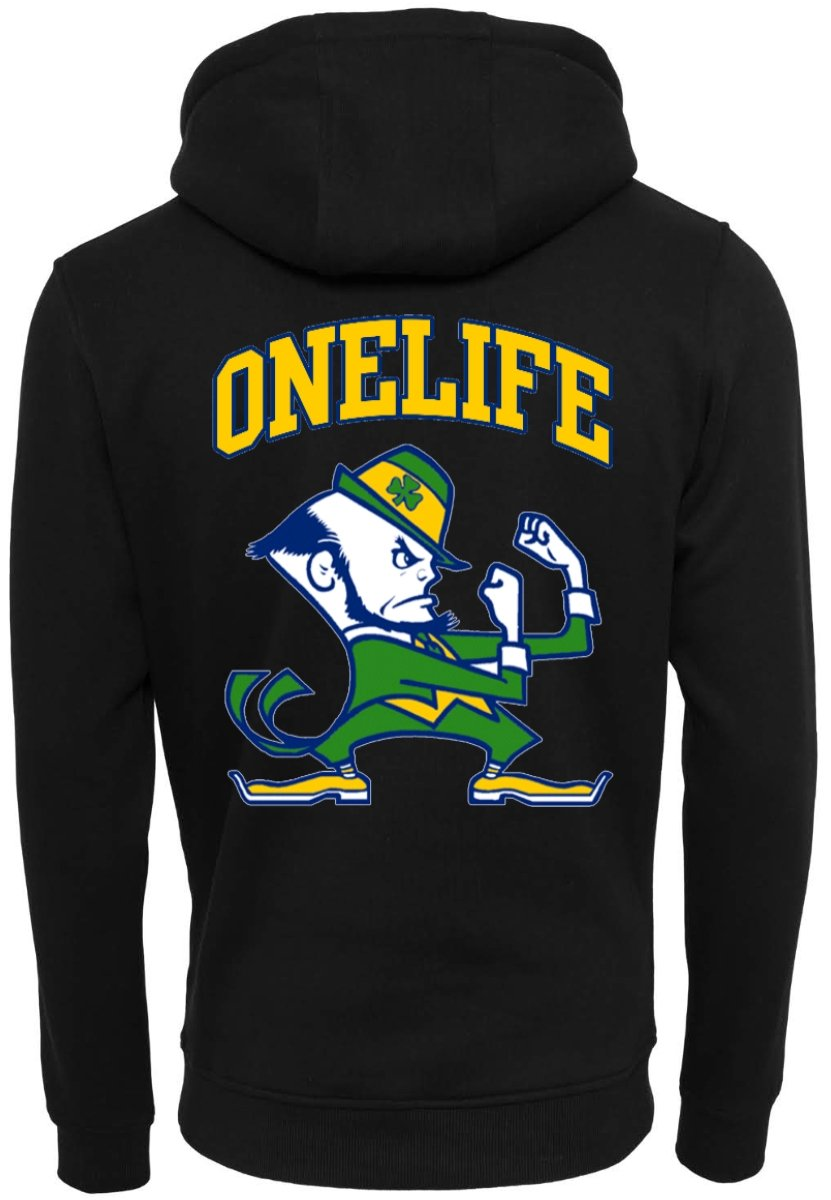 Onelife Apparel Irish vs. Kobold Hoodie Unisex Front & Back Print BIO or REGULAR |  3 Colours