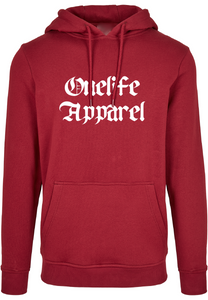 Onelife Apparel Old English Script Logo Hooded Burgundy
