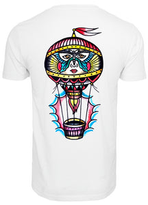 Onelife Apparel Face Balloon Front & Back Print T-Shirt Unisex