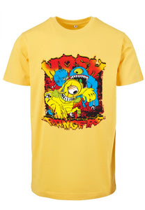 Onelife Apparel Mosh Rangers T-Shirt Yellow
