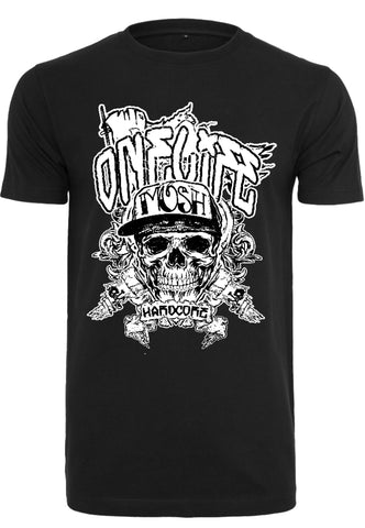 Onelife Apparel Mosh Skull T-Shirt | BIO-Cotton | 2 Colours