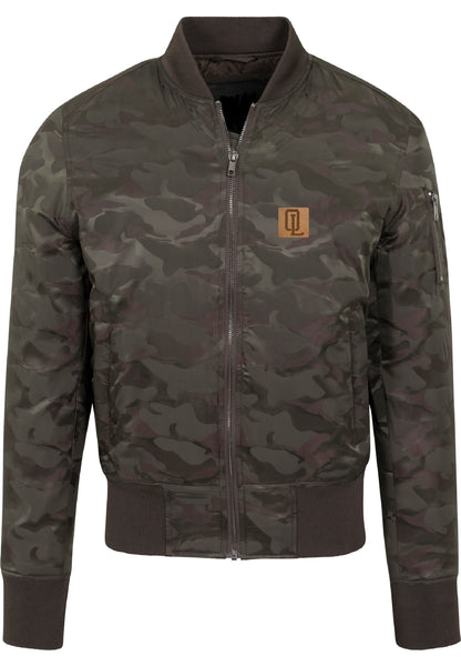 Onelife Apparel Patch Tonal Camo Bomber Jacket | 2 Colours