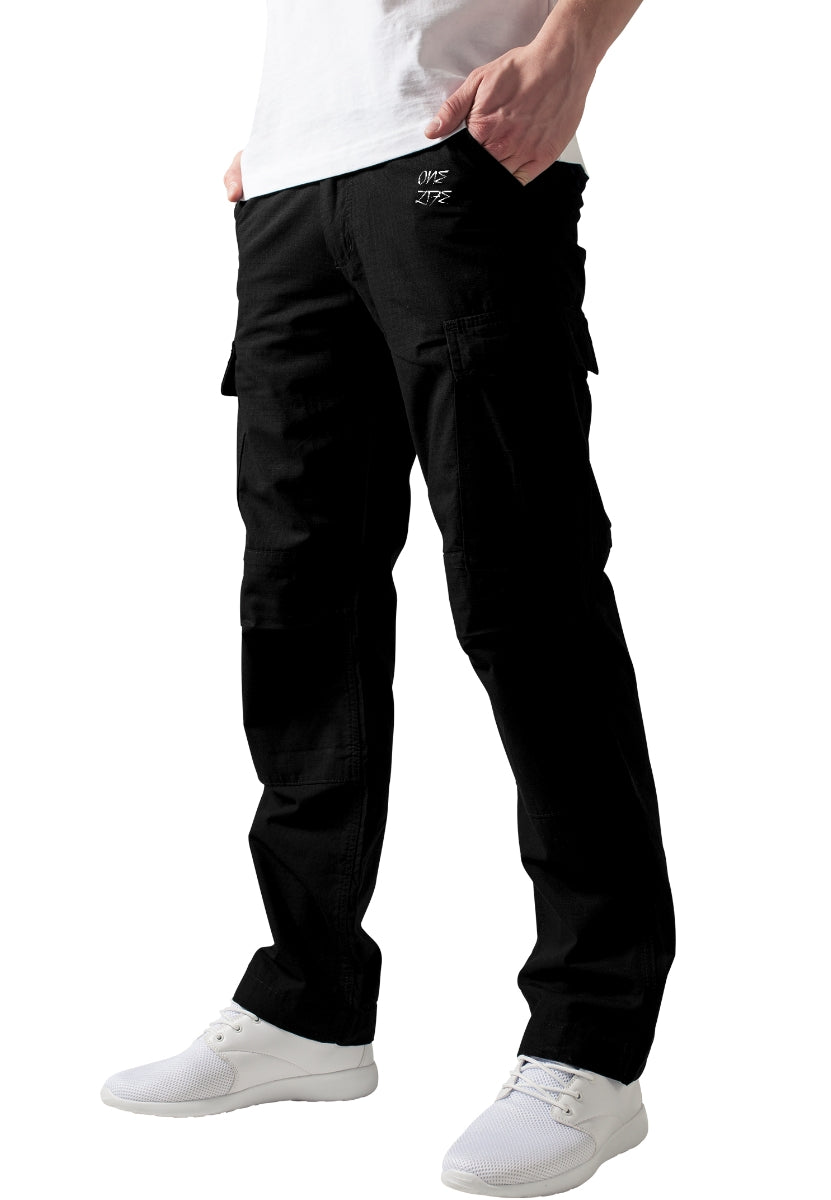 Onelife Apparel Camouflage Cargo Pants black