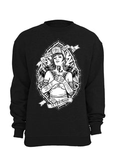 Onelife Apparel Pin Up Sweatshirt Unisex