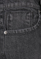 Loose Fit Baggy Jeans Real Black Washed