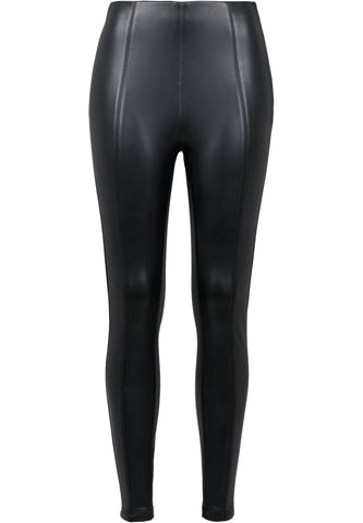Ladies Heavy Faux Leather Skinny Pants
