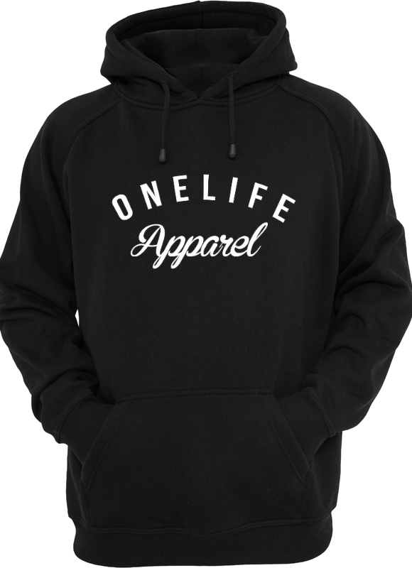 Onelife Apparel OLA Hooded Unisex | Black & Grey