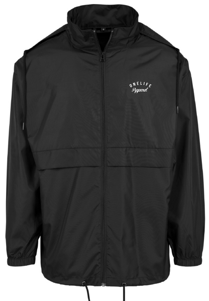 Onelife Apparel OLA Nylon Windbreaker Black