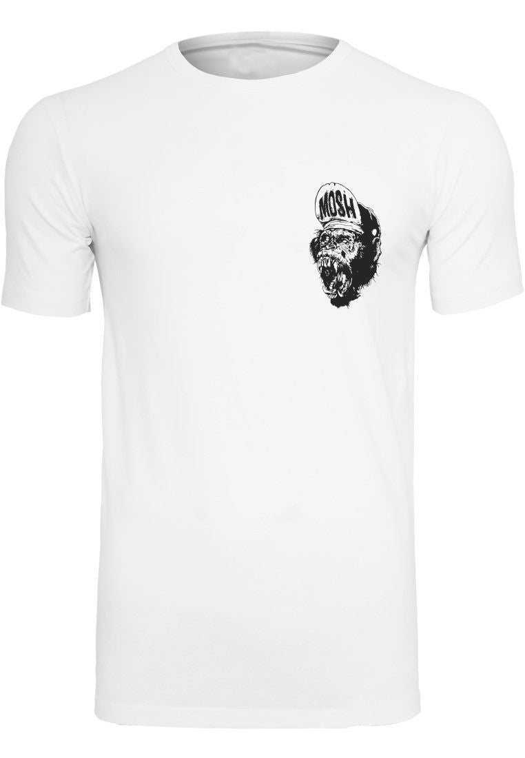 Onelife Apparel Mosh Ape Small White T-Shirt