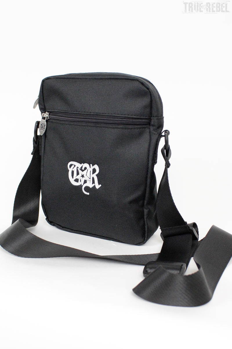 True Rebel Streetwear Bag Pusher Big TR Black