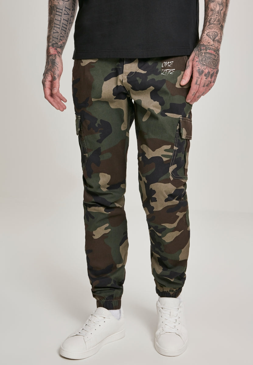 Onelife Apparel Camo Cargo Jogging Pants 2.0 wood camo