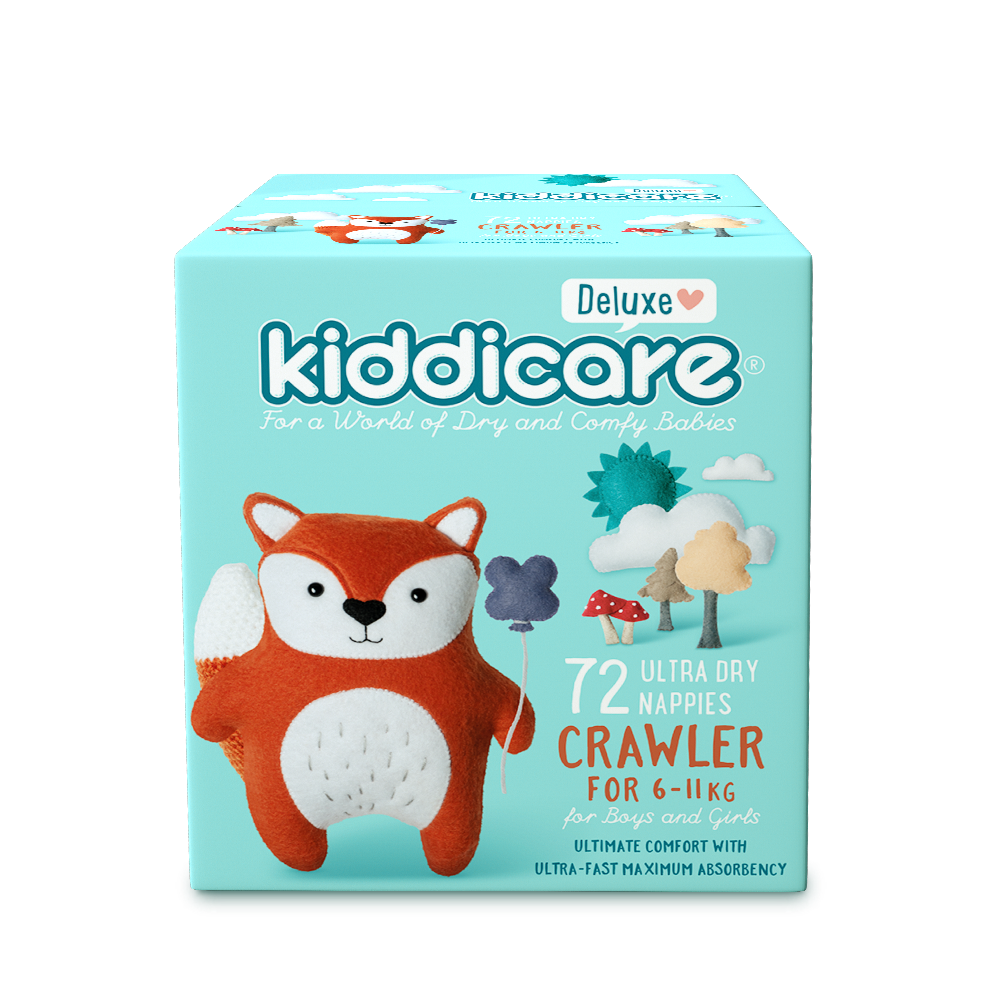 Deluxe Crawler Unisex Nappies